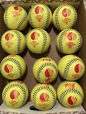 One dozen Classic Plus softballs