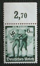 1938 GERMANY - Austria Flag annexes - 6 Reichspfennig Original Glue  (241M)