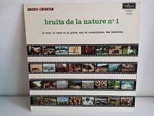 AUDIO CINEMA Bruits de la nature N°1 VEGA 19029 Bruitage