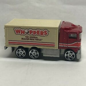 Hot Wheels 2009 Delivery Sweet Rides Hiway Hauler Whoppers Box Truck Mint Look