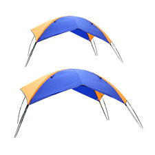Surfing Kayak Canoe 2,4-person Inflatable Boat Fishing Sun Shelter Canopy Tent