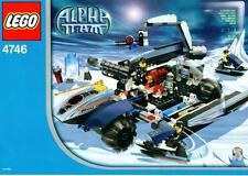 LEGO INSTRUCTIONS ONLY.....Set 4746.Alpha Team Control ......INSTRUCTIONS ONLY