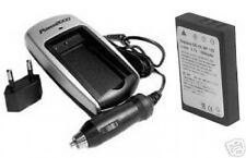 1800mAh Battery + Charger for Pentax D-Li7 DLi7