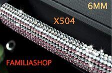Autocollant diamant argenté strass scrapbooking sticker adhésif collant 6MM 6 MM