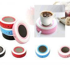 new USB Portable Powered Cup Mug rainbow Warmer Coffee Tea Drink Heater Tray Pad