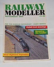 RAILWAY MODELLER VOLUME 40 NUMBER 469 NOVEMBER 1989 - MOSTYN JUNCTION/MASONGILL