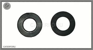 """4 X RUBBER WASHER 1/2"""" BLACK FLAT WASHERS SEAL FOR BATH TAPS SINK PLUMBING DRIP"""