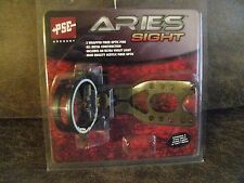 ***New PSE Aries 3-Pin Bow Sight with Light Black