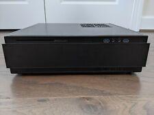 Silverstone SST-ML07B Black Slim Mini-ITX HTPC Computer Case Very Good Condition