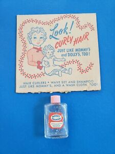 Vintage 1950 My Merry Wash-N-Wave Play Set Rare First Issued with Merry Mfg