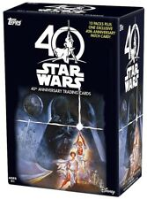 2017 Topps Star Wars From Disney 40th Anniversary 10packs & Patch Factory Seal