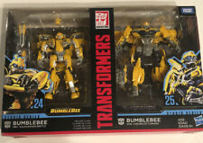 Transformers Bumblebee Action Figures 2 Pack Studio Series 24 & 25 Deluxe Class