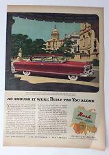 Original Print Ad 1952 NASH AIRFLYTE Ambassador Capitol Photograph 1950s