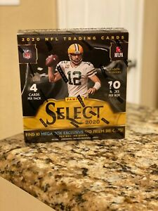 2020 PANINI SELECT NFL FOOTBALL MEGA BOX PACK 4 CARDS WALMART SEALED HERBERT RC