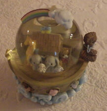 Bainbridge Bears Ark of Friendship Snowglobe Musical Plays Twinkle Little Star