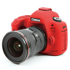 easyCover canon 5D mark III / 5DS R / 5DS EA-ECC5D3R Camera Case RED Silicone