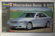 REVELL 1:24 KIT AUTO CAR MERCEDES-BENZ S 600 LUNGHEZZA LENGTH 20,7 CM  ART 07384