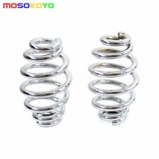 New Motorcycle Barrel Coiled Solo Seat Springs For Harley Softail Bobber Chopper