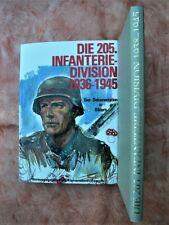 Die 205. Infanterie-Division 1936-1945  -  Bildband Podzun-Verlag 1981