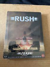 Rush Blu-ray Steelbook ¼ Slip Kimchidvd Exclusive NEW & SEALED Chris Hemsworth