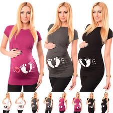 LOVE - Cotton Printed Maternity Pregnancy Top Tshirt Tee 2010