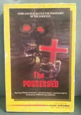 THE POSSESSED Vintage VHS VIDEO TERROR MOVIE Horror untested