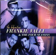 FRANKIE VALLI & THE FOUR SEASONS -THE DEFINITIVE (NEW SEALED CD)