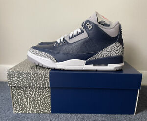 Free shipping! Air Jordan 3 'Georgetown' Size 9- CT8532 401