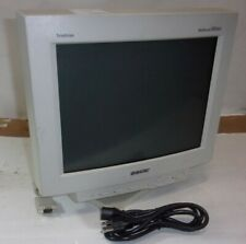 """Sony Multiscan 100SX CPD-100SX Trinitron Color Display CRT 14"""" Monitor SEE NOTES"""