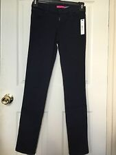 Authentic Alice and Olivia Women's Skinny Jeans Navy 27 Made in US MSRP$198  NWT