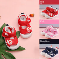 Infant Newborn Baby Girls Boys Prewalker Rabbit Cartoon Single Shoes Sandals