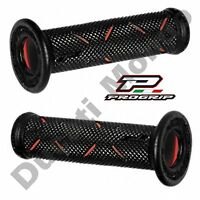 Progrip Black & Red Race Grips medium for Ducati Aprilia Cagiva MV Agusta Corse