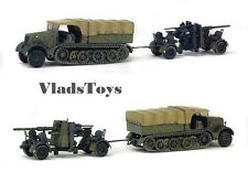 Solido War Master 1:72 German Sd.Kfz.9FAMO Half-Track w/FLAK 36/37 88mm S7200202