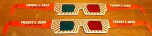 Promotional Nightmare On Elm Street 3 FREDDYS DEAD 3D Glasses Guild NewLine 1991