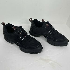 Bloch Women's Size 8.5 Black Boost DRT Dance Sneakers S0528L shoes