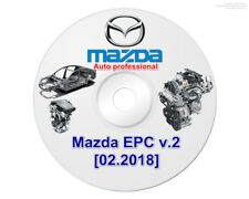 NEW Mazda EPC v2 02-2018 last left hand drive electronic parts catalog