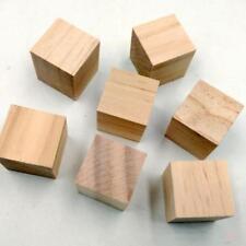 Blesiya 5//50x 10//30mm Wooden Craft Supplies Blocks Wood Cubes Hardwood Pines
