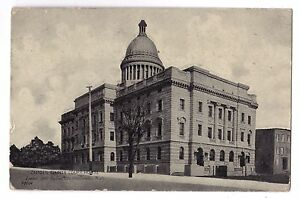New Jersey postcard Camden, Camden County Court House