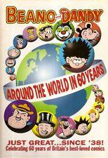 BEANO And DANDY. Around The World In 60 Years.