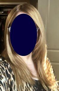 Shevy Blonde Kosher Long Wig MB European Human Hair Wig Large Cap Jewish Shaitel