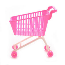 1X Shopping Trolleys for Barbie Girls Play House Dollhouse Furniture Pink ChicJX