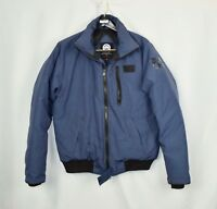 Canada Goose Borden Bomber - Coat Jacket - Mens Large L - Blue - 100% Authentic