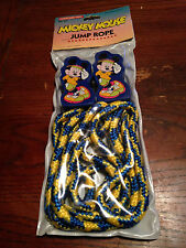 MICKEY MOUSE JUMP ROPE NEW SEALED / REAL PICS / WRONGWAY052
