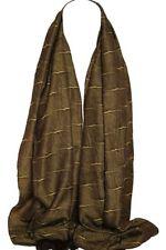 Châles/écharpe marrons en polyester pour femme