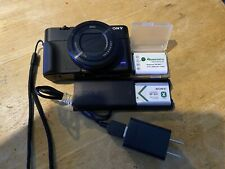 Sony Cyber-shot RX100 V 20.1MP Digital Camera -Black w/Batteries, Charger, Grip