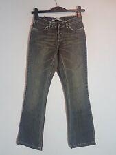 """CROSS Damen Hüft-Jeans """"C-464-G 03/0056""""  Bootcut  W26-W34  grau NEU mit Etikett"""