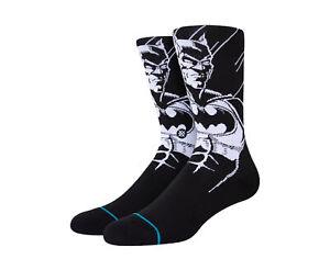 Stance Batman Black/White Crew Socks A545D21BAT-BLK