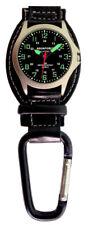 Aqua Force Luminous Analog Carabiner Watch (30m Water Resistant)