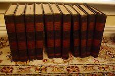 11 BOOK SET 1929 COMPLETE & LOOSE LEAF REVISION PROGRESSIVE REFERENCE LIBRARY