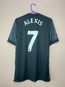Manchester United 2017-2018 Alexis #7 Away Football Shirt Soccer Jersey size M